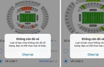 Cháy vé xem trận ĐT Việt Nam - ĐT Malaysia ở phiên mở bán đầu tiên