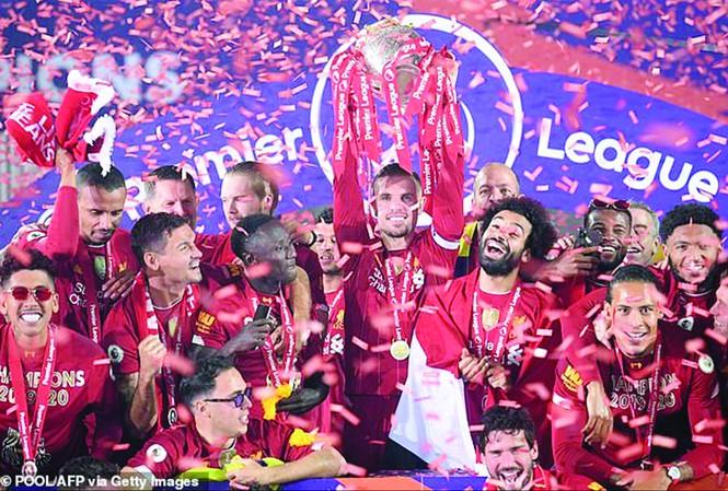 Liverpool là ứng viên vô địch hàng đầu giải Ngoại hạng Anh mùa tới