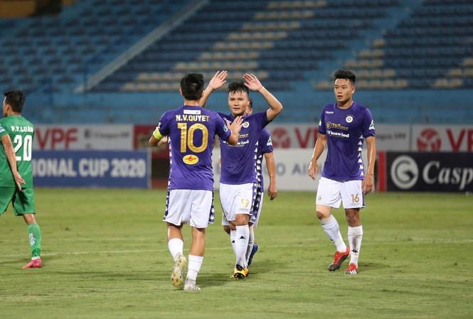 Quang Hải ghi bàn trở lại là tín hiệu vui với Hà Nội FC cũng như ĐTVN. Ảnh: NHƯ Ý