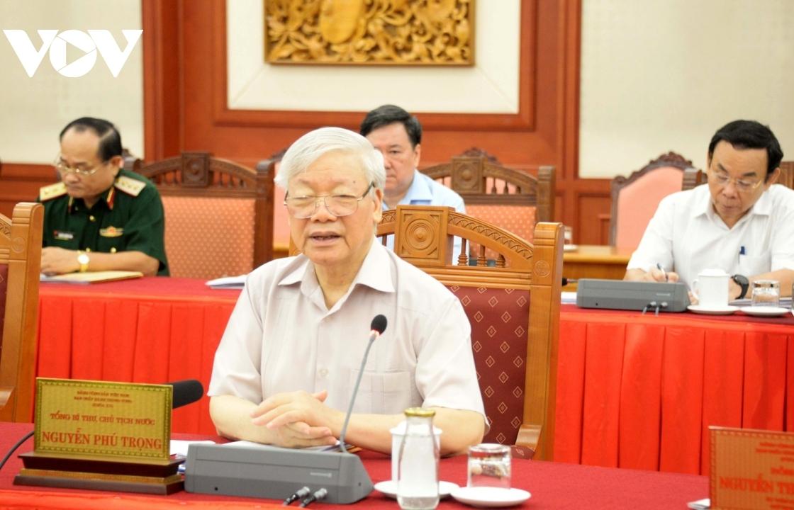 Bộ Chính trị cho ý kiến về văn kiện và nhân sự Đại hội Đảng bộ Công an