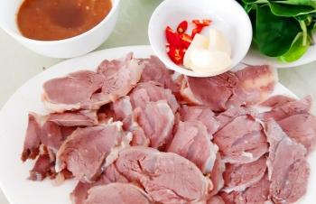 Ngọt vị thịt trâu rừng Hoành Bồ