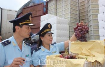 Hải quan Lào Cai:  Nỗ lực thu ngân sách những tháng cuối năm