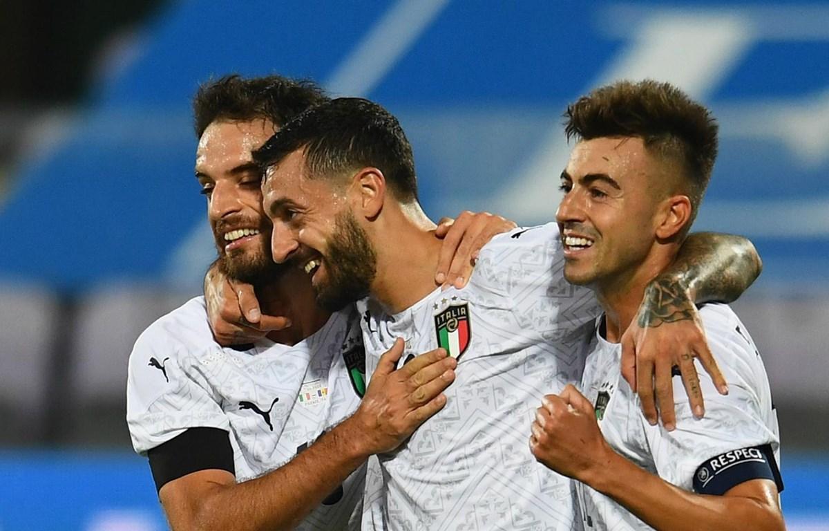 Italy có chiến thắng đậm 6-0 trước Moldova. (Nguồn: Getty Images)