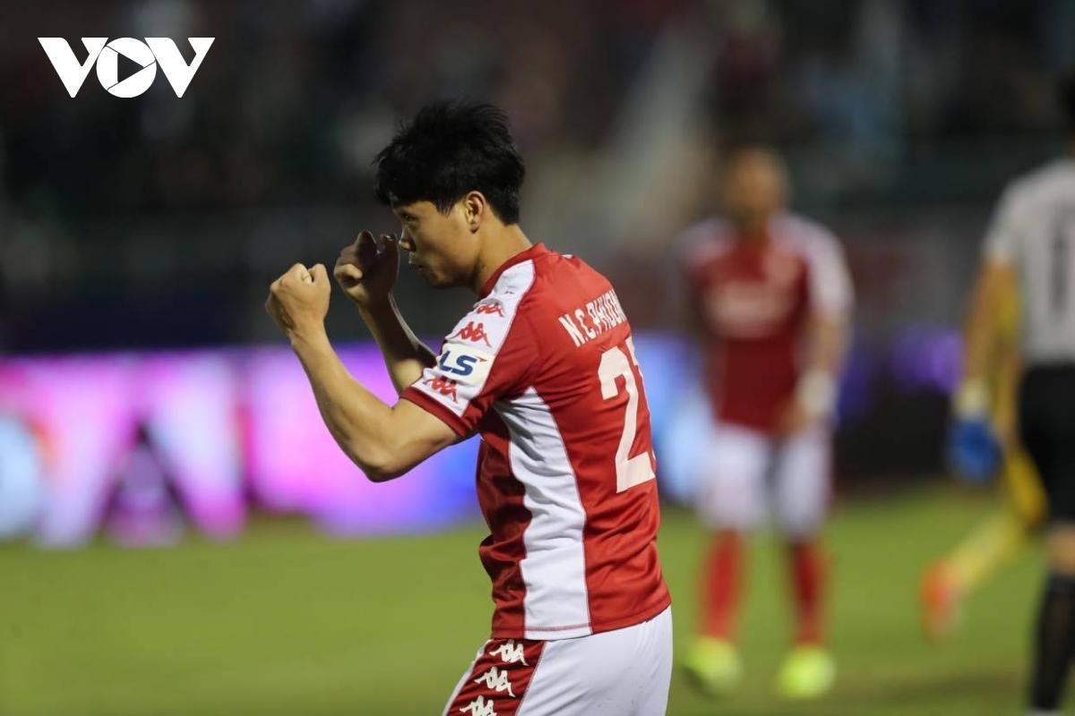 Quang Hải, Công Phượng và đội hình kết hợp trong mơ trận Hà Nội FC   TPHCM