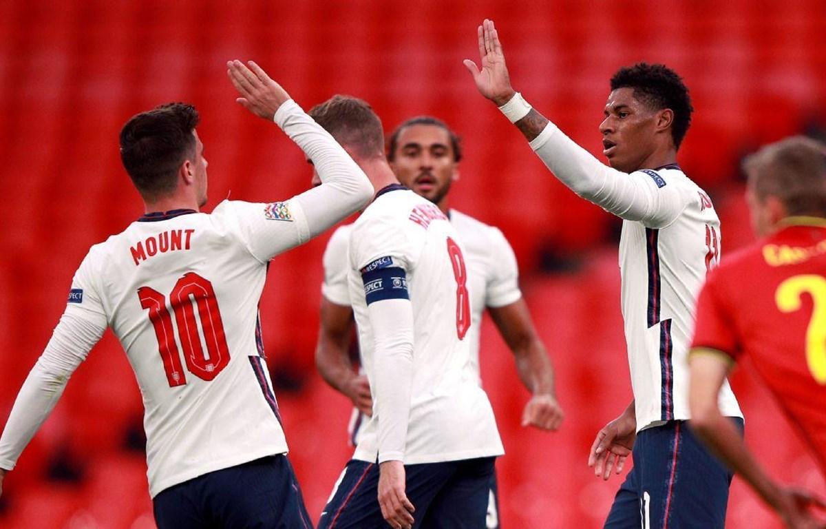 Tuyển Anh giành chiến thắng trước Bỉ. (Nguồn: Getty Images)