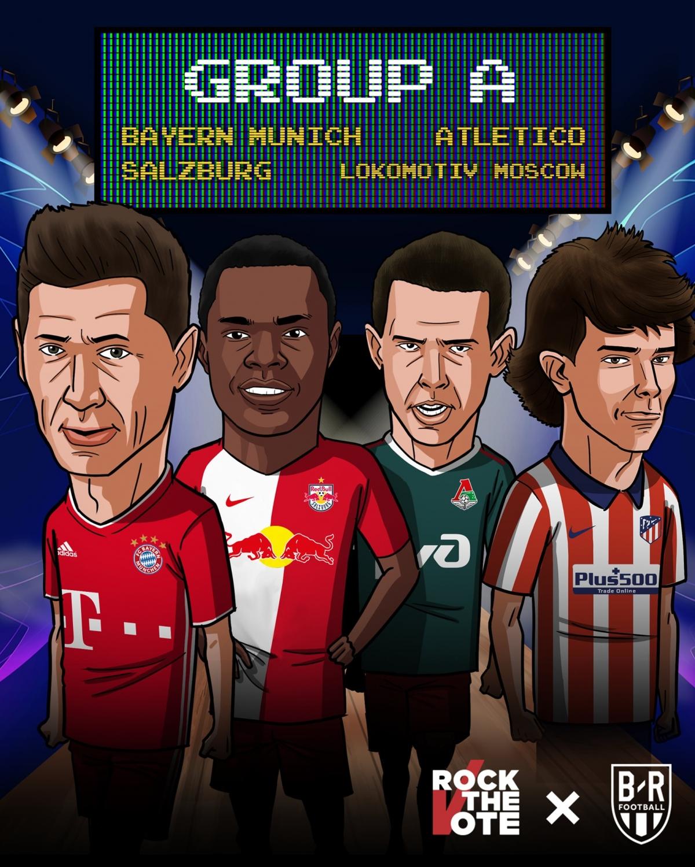 21/10 23:55 Salzburg - Lokomotiv Moskva22/10 02:00 Bayern Munchen - Atletico Madrid