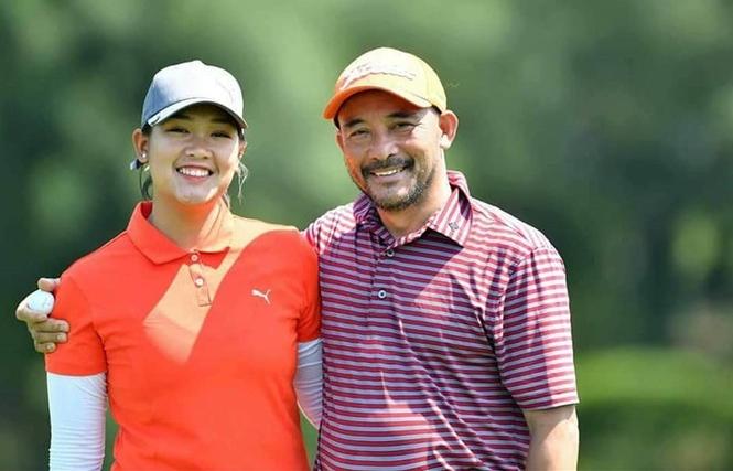 """Những """"bóng hồng"""" tài năng làng golf Việt"""