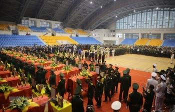 Lễ viếng, truy điệu 22 liệt sỹ Đoàn Kinh tế Quốc phòng 337