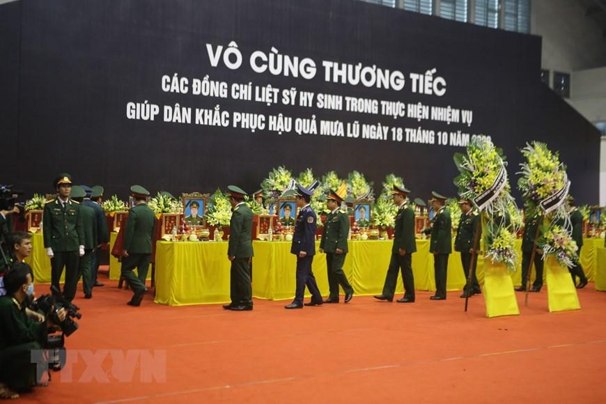 Quảng Trị: Lễ viếng, truy điệu 22 liệt sỹ Đoàn Kinh tế Quốc phòng 337