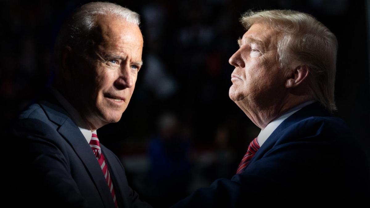 Các cuộc thăm dò hiện nay vẫn cho thấy ông Biden đang dẫn trước ông Trump với khoảng cách đáng kể. Ảnh: KT