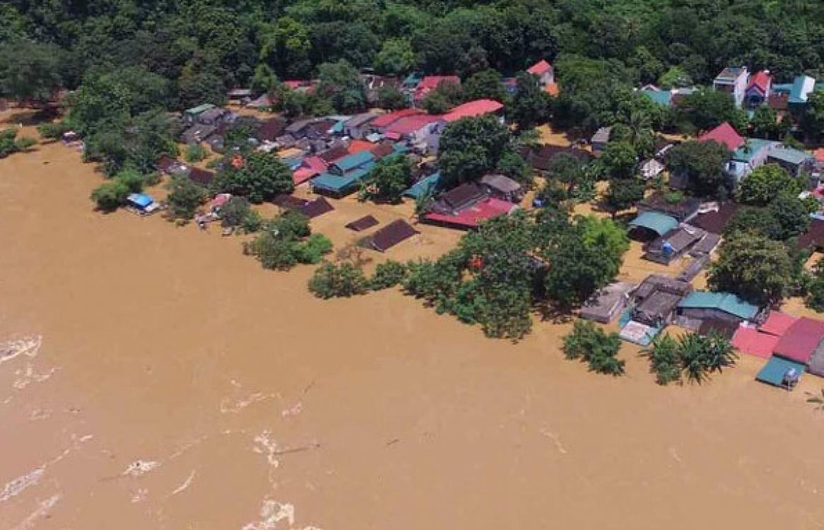 Cảnh báo lũ trên các sông ở Nghệ An, Hà Tĩnh tiếp tục lên