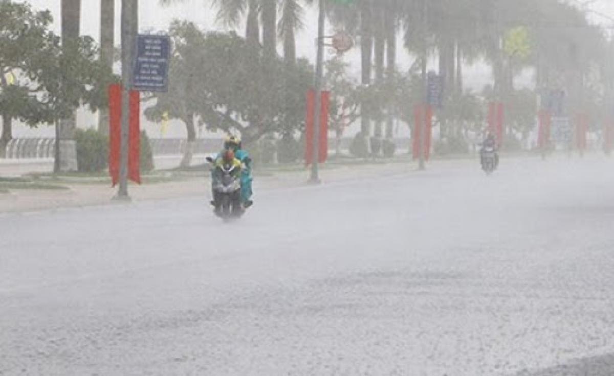 Dự báo các tỉnh từ Nghệ An đến Quảng Trị có mưa vừa, mưa to, có nơi mưa rất to. Ảnh minh họa: KT