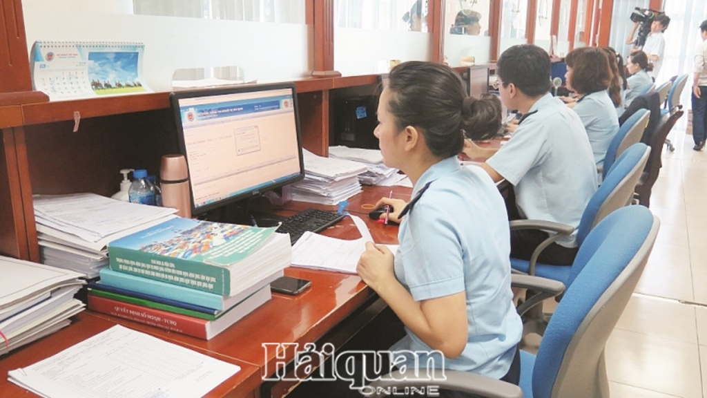 thu tuc hanh chinh ve hai quan duoc dien tu hoa o hau het cac khau 114796