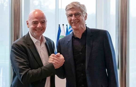 FIFA bổ nhiệm ông Arsene Wenger trên cương vị mới