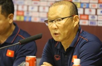 HLV Park Hang Seo nói gì về trận đấu giữa tuyển VN và Thái Lan sắp tới