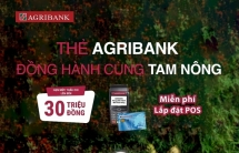 Thẻ Agribank đồng hành cùng tam nông