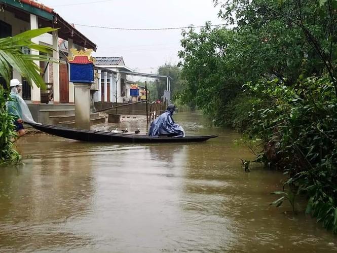 Thừa Thiên Huế: Mưa lớn diện rộng, nhiều nơi tái ngập lụt và sạt lở đất - ảnh 8