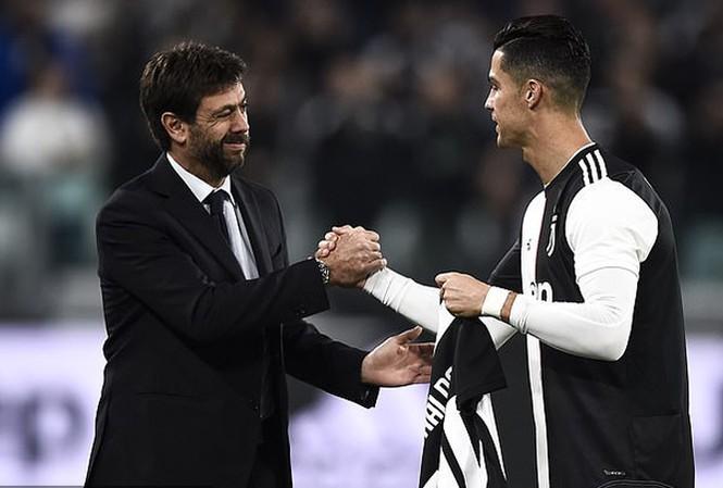 Ronaldo là 'cỗ máy in tiền' của Juventus