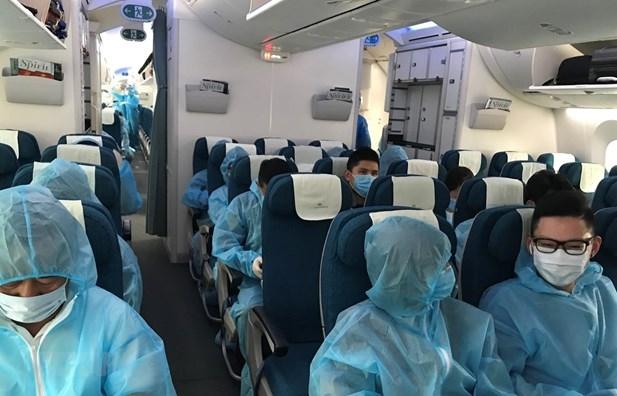 Mỗi tuần sẽ có 33 chuyến bay đưa công dân Việt Nam về nước