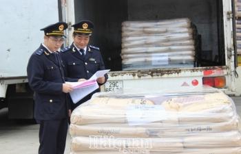 Hải quan Hà Nội cảnh giác trước gian lận xuất xứ hàng hóa