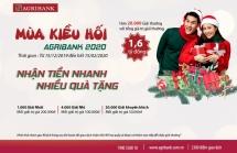 Dịch vụ nhận tiền kiều hối qua Agribank: Nhận tiền nhanh nhiều quà tặng