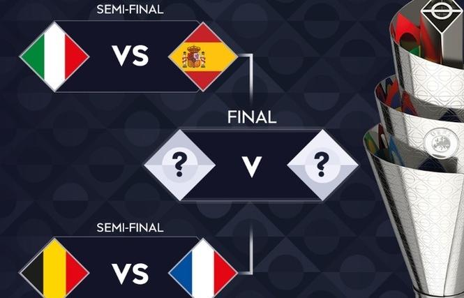 Bán kết Nations League: Italia đấu Tây Ban Nha