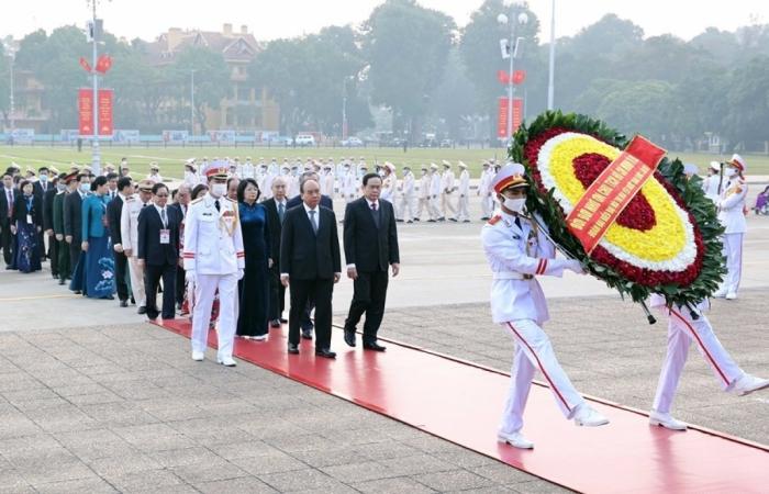 Bắt đầu các hoạt động tại Đại hội Thi đua yêu nước toàn quốc lần thứ X