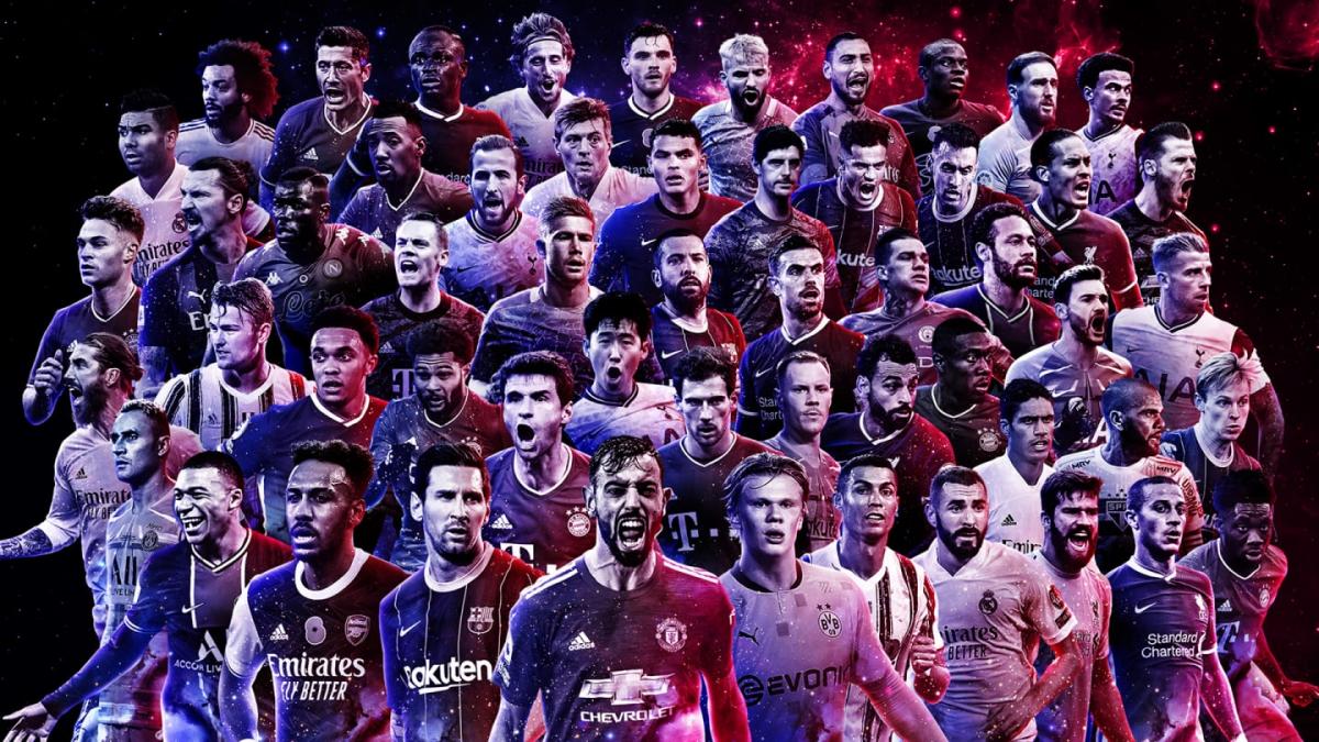 Danh sách những cầu thủ đề cử cho đội hình xuất sắc nhất năm 2020 của FIFA (Ảnh: FIFA).