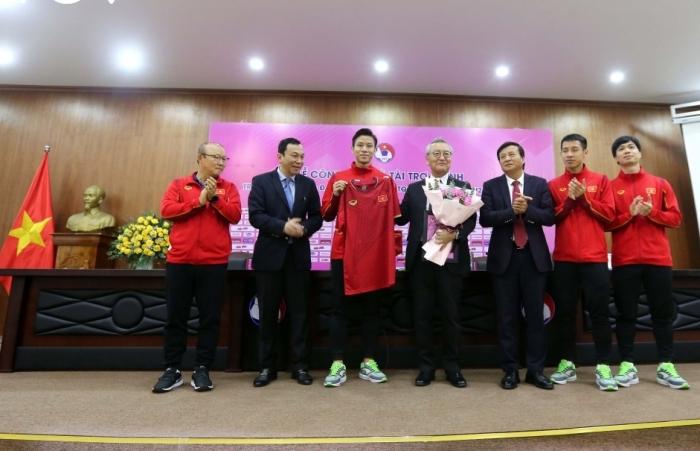 Tiền vé trận giao hữu ĐTVN và U22 sẽ dùng ủng hộ đồng bào Miền Trung-Tây Nguyên