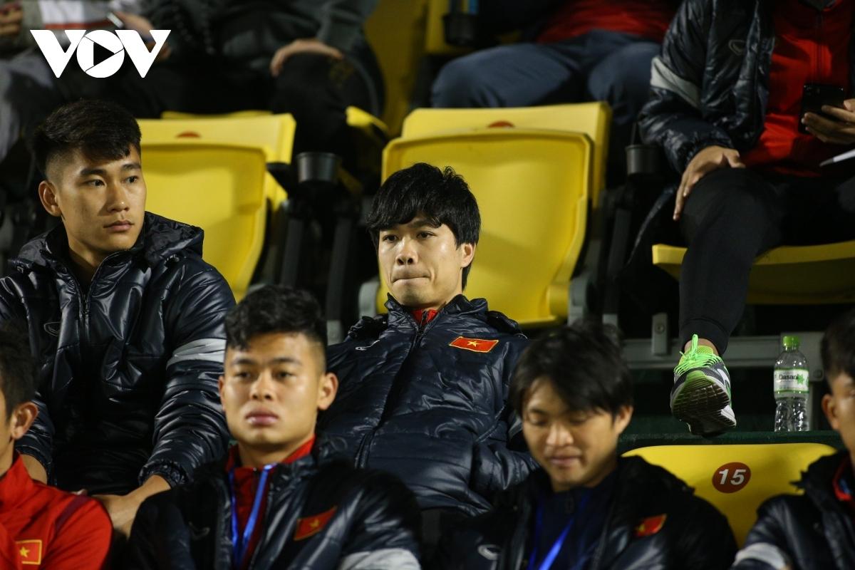 Những cầu thủ quen mặt như Công Phượng, Tuấn Anh hứa hẹn sẽ được ra sân khi ĐT Việt Nam tái đấu U22 Việt Nam ngày 27/12. (Ảnh: Chi Chi).