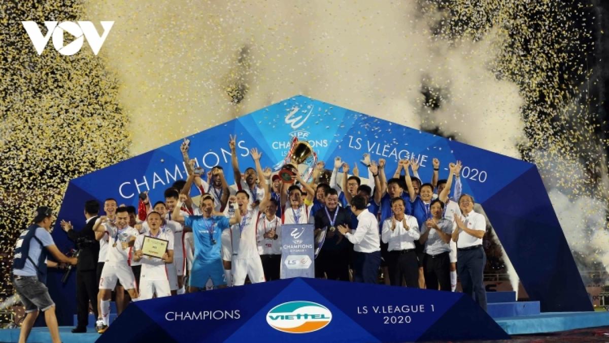 Viettel được dự đoán gặp nhiều khó khăn ở mùa giải 2021 (Ảnh: Minh Hoàng).