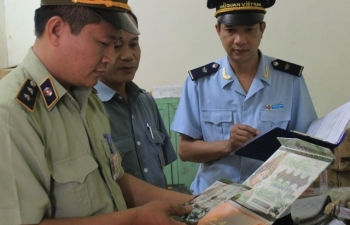 Cận Tết, Hải quan Quảng Ninh thu giữ gần 1 tỷ đồng hàng vi phạm