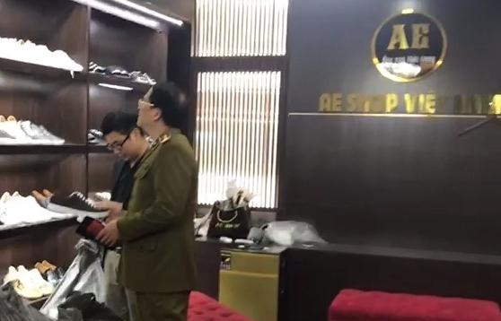 Hà Nội; Tạm giữ hơn 4.600 quần áo, giày dép giả mạo nhãn hiệu nổi tiếng