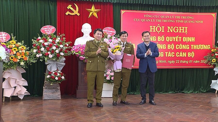Cục Quản lý thị trường Quảng Ninh có quyền Cục trưởng mới
