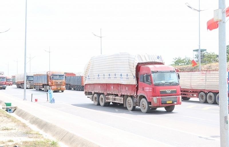 Móng Cái: Xuất nhập khẩu hàng hóa thông suốt trong tháng đầu năm
