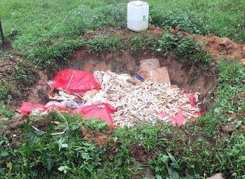 Quảng Ninh: Thu mua 600 kg chân gà mốc bán kiếm lời