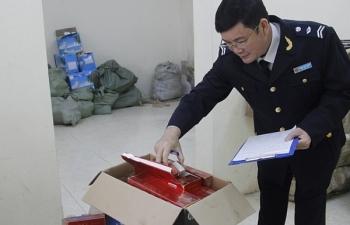 Tạm giữ 1.300 bao thuốc lá Trung Quốc nhập lậu