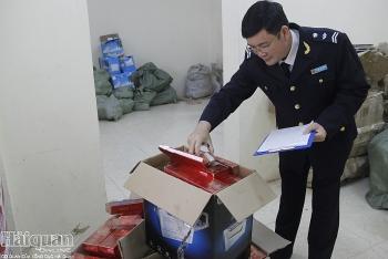 Thu giữ gần 1.500 bao thuốc lá Trung Quốc nhập lậu