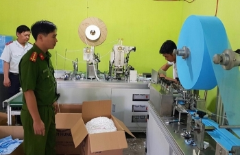 Kiểm soát dây chuyền, thiết bị cũ nhập khẩu để sản xuất khẩu trang