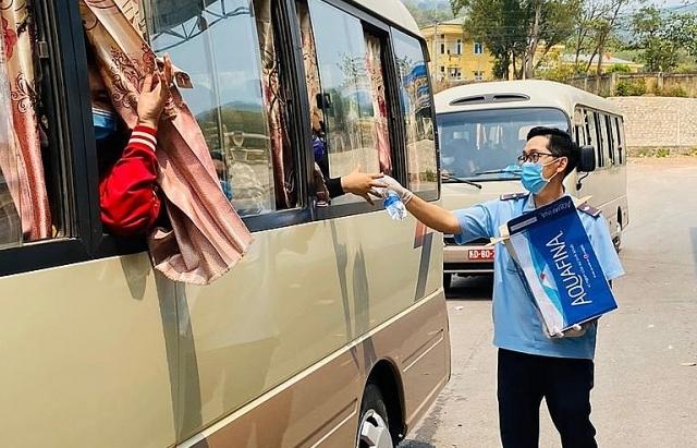 Quảng Trị: Hơn 1.700 khách xuất nhập cảnh qua cửa khẩu Lao Bảo