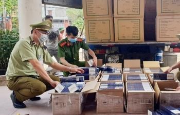Xử lý 10.720 vụ buôn bán, vận chuyển hàng cấm, hàng lậu