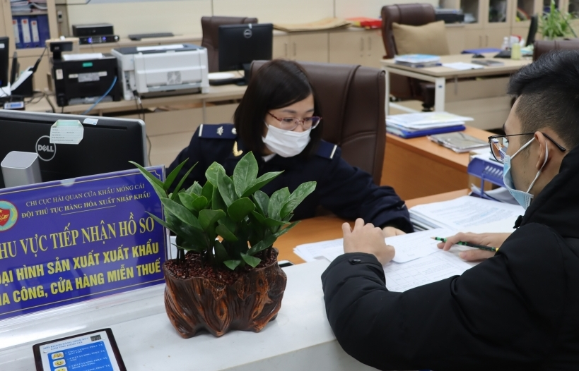 5/6 chi cục thuộc Hải quan Quảng Ninh đo thời gian giải phóng hàng