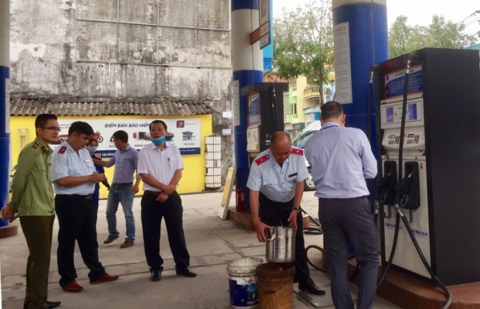Quảng Ninh: Thanh tra hoạt động đo lường, chất lượng trong kinh doanh xăng dầu