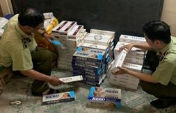 Đồng Tháp: Phát hiện thuốc lá nhập lậu trong tiệm cắt tóc