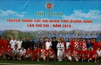 Hải quan Quảng Ninh tổ chức Hội thao truyền thống