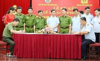 Quảng Ninh: 7 chi cục hải quan ký kết kế hoạch phối hợp đấu tranh phòng chống tội phạm
