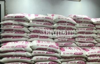 Hơn 14 tấn gạo xuất lậu trị giá gần 130 triệu đồng