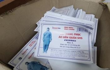 Bộ Công an gửi thư khen thành tích trấn áp sản xuất vật tư y tế giả
