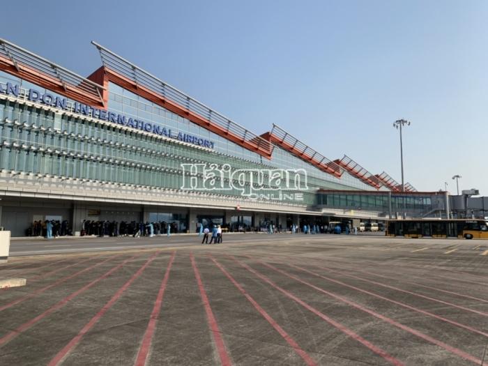 Sân bay Vân Đồn nới lỏng quy trình nhưng vẫn đảm bảo phòng dịch