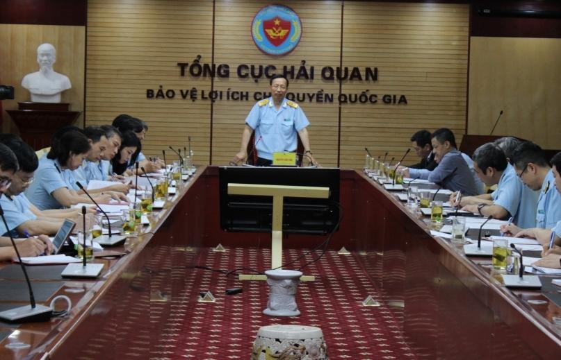 Đảng ủy cơ quan Tổng cục Hải quan chỉ đạo triển khai nhiều nhiệm vụ chính trị